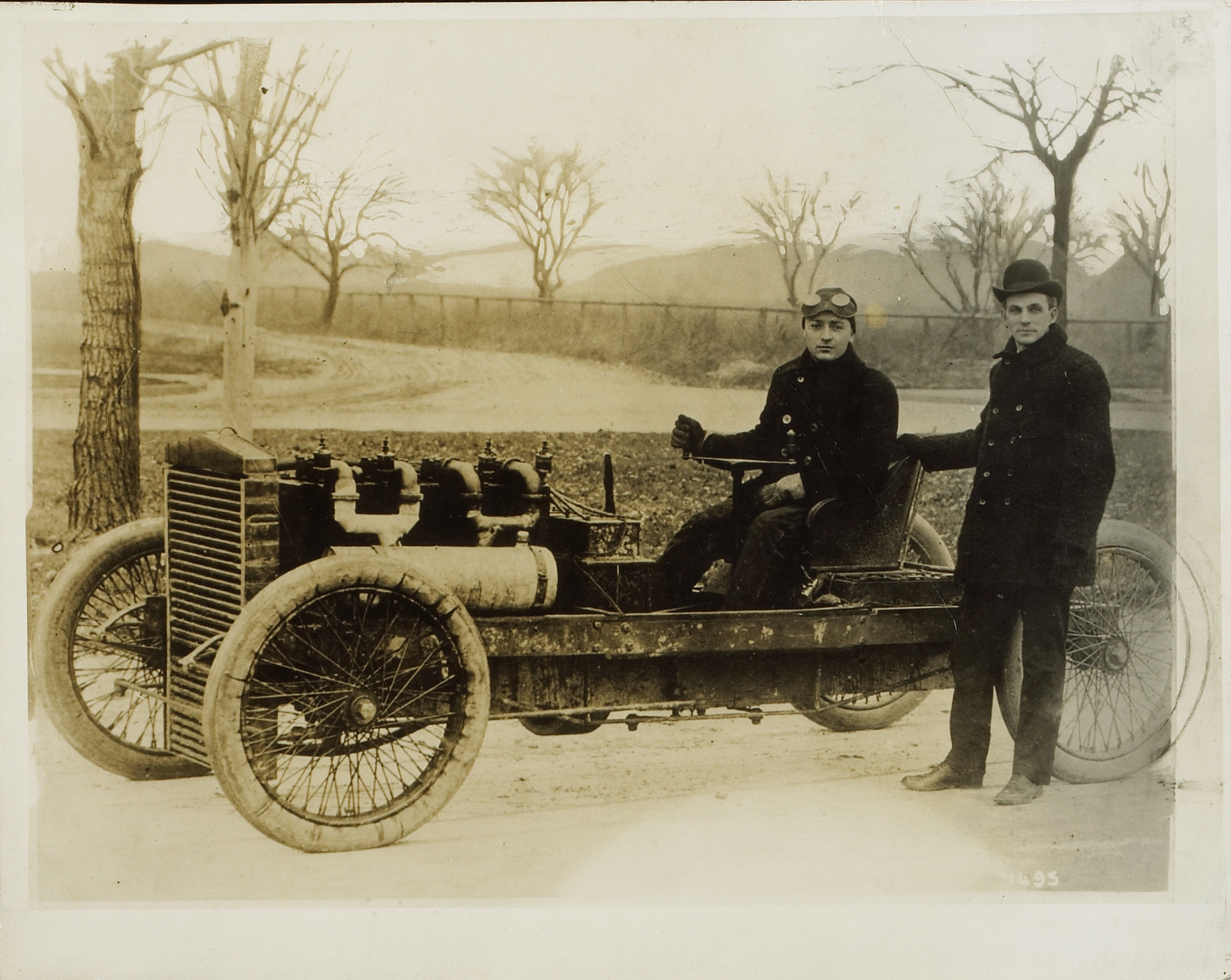 """Barney Oldfield, Henry Ford and the """"999"""""""